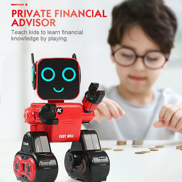 Programmable RC Robot Mini Smart Robot Remote Control Toys Touch Voice Control Sing Dance Built-in Coin Bank Kids Toy Gift - The most popular products on Tiktok | GOWOW