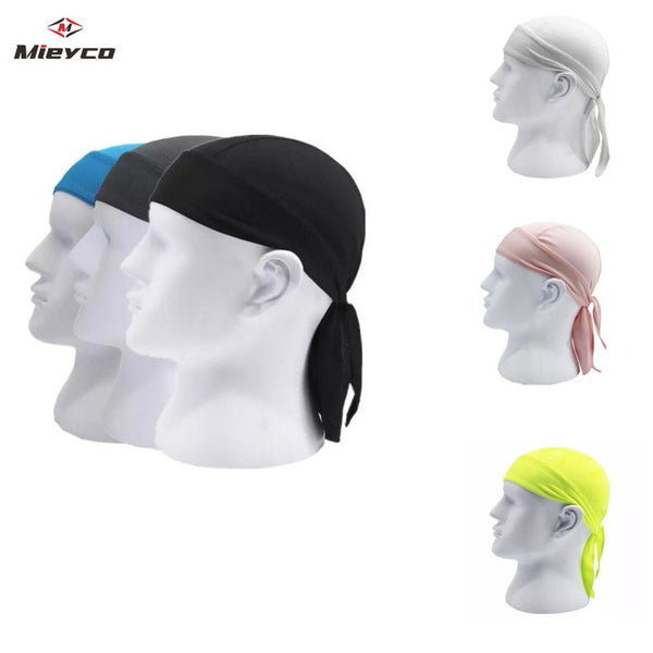Quick Dry Pure Cycling Cap Head Scarf Summer Men Running Riding Bandana Headscarf Ciclismo Pirate Cap Headband Men Head Scarf - The most popular products on Tiktok | GOWOW