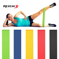 REXCHI Gym Fitness Resistance Bands for Yoga Stretch Pull Up Assist Bands Rubber Crossfit Exercise Training Workout Equipment - The most popular products on Tiktok | GOWOW