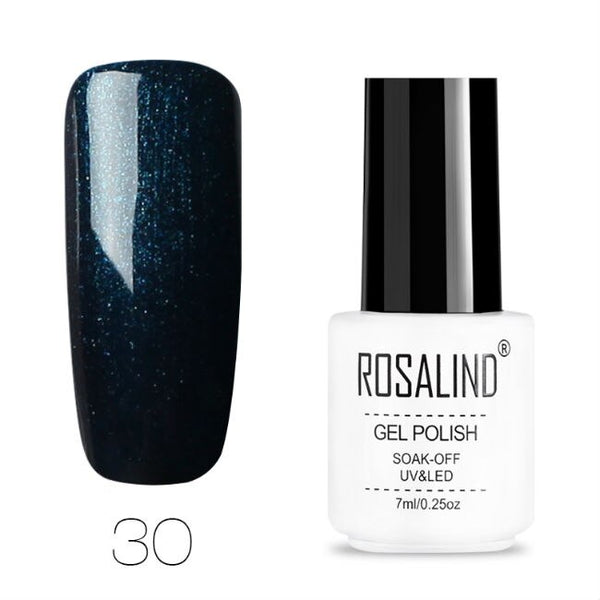 ROSALIND Gel Polish Set All For Manicure Semi Permanent Vernis top coat UV LED Gel Varnish Soak Off Nail Art Gel Nail Polish - The most popular products on Tiktok | GOWOW