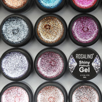 ROSALIND  Hybrid Varnishes Gel Nail Polish Set Glitter Platinum Painting Nails Art Poly UV Gellak Top Base Primer For Manicure - The most popular products on Tiktok | GOWOW
