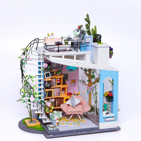Robotime DIY Dollhouse Miniature Doll House Furniture Wooden Dollhouse Kits forChildren Gift for Dropshipping - The most popular products on Tiktok | GOWOW