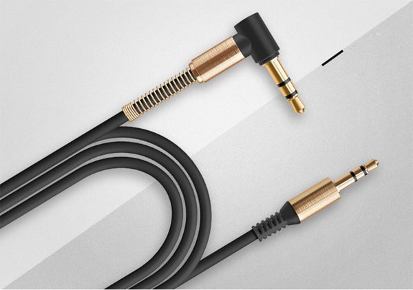 Rovtop 3.5MM Audio Cable Male-Male AUX Cable Headphone Beats Earphone Speaker Phone Car Stereo AUX Cord Spring Audio Cable Z2 - The most popular products on Tiktok | GOWOW