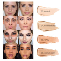 SACE LADY Full Cover 8 Colors Liquid Concealer Makeup 6ml Eye Dark Circles Cream Face Corrector Waterproof Make Up Base Cosmetic - The most popular products on Tiktok | GOWOW