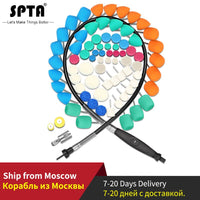 SPTA Car Mini Polishing Tools Kit for Wheel, Headlight & Door Handle Polishing Buffing Pads Flexible Shaft for Rotary Polisher - The most popular products on Tiktok | GOWOW