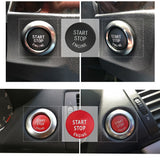 START Stop Engine Button Replace Cove for BMW X1 X5 E70 X6 E71 Z4 E89 3 5 Series E90 E91 E60 Key Decor Ring Trim Cap  Switch Kit - The most popular products on Tiktok | GOWOW