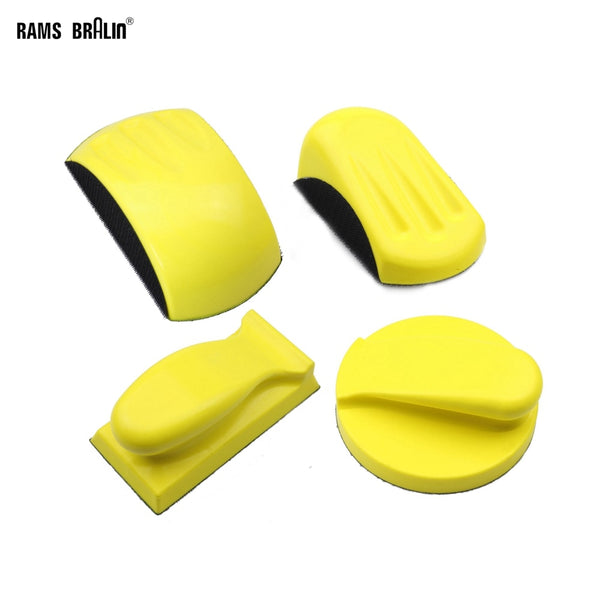 Sanding Disc Holder Sandpaper Backing Polishing Pad Hand Grinding Block - The most popular products on Tiktok | GOWOW