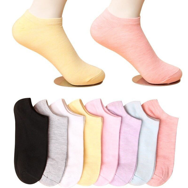 Short Socks Female Sports Socks Cotton Cocks summer Socks Thin Socks College Wind Female Socks Boat Bow Whort Waist Short - The most popular products on Tiktok | GOWOW