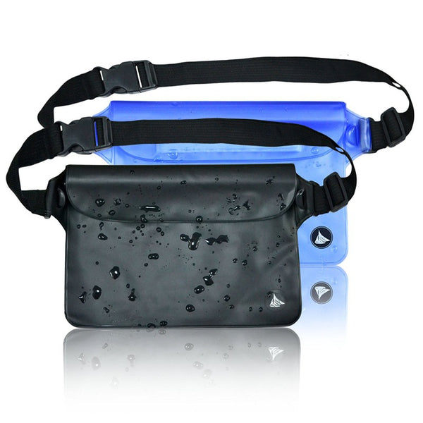 Sports Outdoor Camping Climbing Hiking Waist Bags Waterproof Pouch Dry Bag Case With Waist Shoulder Strap Pack - The most popular products on Tiktok | GOWOW