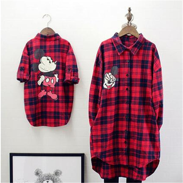 Spring Winter Family Matching Clothes Baby Girl Red Lattice Cardigan Shirt Mother And Daughter Clothes Windbreaker Family Look - The most popular products on Tiktok | GOWOW