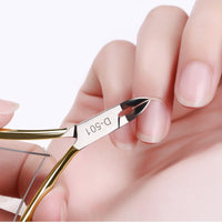 Stainless Steel Cuticle Nipper Professional Remover Scissors Finger Care Manicure Nail Clipper Dead Skin Tools Gold and Sliver - The most popular products on Tiktok | GOWOW