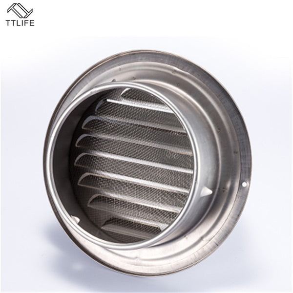 Stainless Steel Ventilation Exhaust Grille Wall Ceiling Air Vent Grille Ducting Cover Outlet Heating Cooling Waterproof Vent Cap - The most popular products on Tiktok | GOWOW