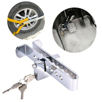 TOSPRA New Universal Auto Car Brake Clutch Pedal Lock Anti-Theft Strong Security For Cars Truck Throttle Accelerator Pedal Lock - The most popular products on Tiktok | GOWOW
