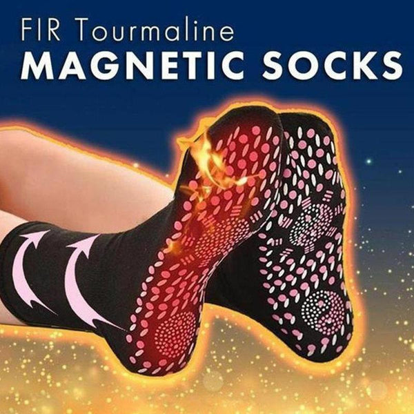Tourmaline Self Heating Heated Socks For Women Mem Help Warm Cold Feet Comfort Health Heated Socks Magnetic Therapy Comfortable - The most popular products on Tiktok | GOWOW