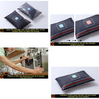 Universal Car Interior Desiccant Non-Toxic Silicone Desiccant Car Dehumidifier Moisture Damp Absorber Dehumidifiers Recycle - The most popular products on Tiktok | GOWOW
