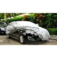 Universal Full Car Covers Snow Ice Dust Sun UV Shade Cover Foldable Light Silver Size S-XXL Auto Car Outdoor Protector Cover - The most popular products on Tiktok | GOWOW
