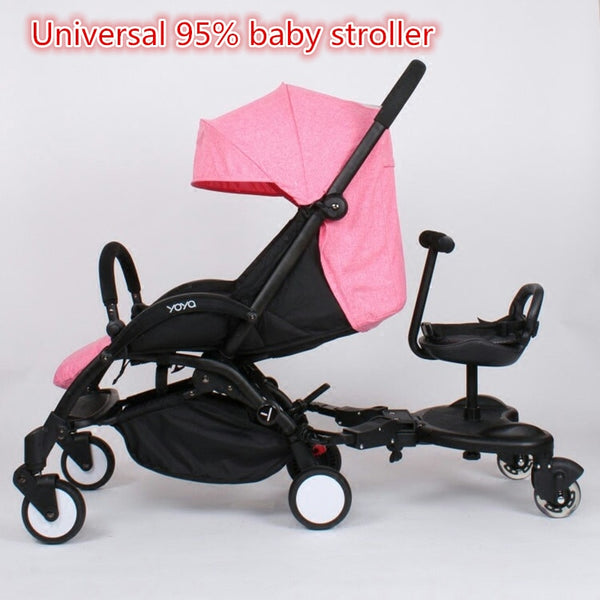 Universal Stroller Accessories Pedal Twins stroller Standing Plate Rider Buggy Board Sibling Board Second Child Artifact Traile - The most popular products on Tiktok | GOWOW