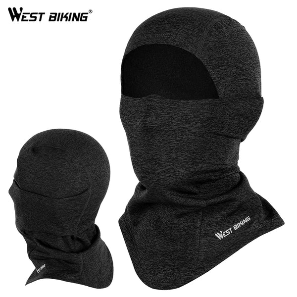 WEST BIKING Winter Sport Cycling Cap Bike Full Face Mask Neck Warmer Men Women Scarf Ski Bicycle Motocycle Fleece Head Cap Hat - The most popular products on Tiktok | GOWOW