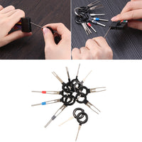 WEYHAA 11*Terminal Removal Tool Car Electrical Wiring Crimp Connector Pin Extractor Kit - The most popular products on Tiktok | GOWOW
