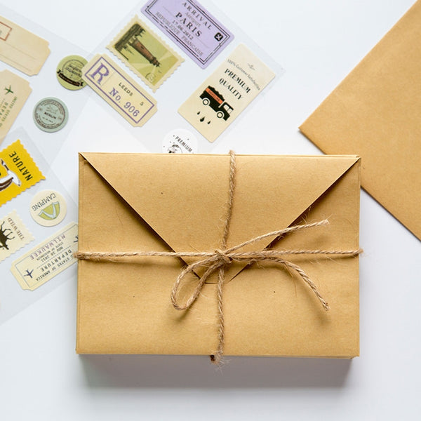 Wallet Envelope 50 Piece Kraft Paper Envelope Wedding Gift Envelopes 150*110mm School And Office Supplier Stationery - The most popular products on Tiktok | GOWOW