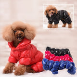 Warm Winter Dog Clothes Collar Windproof Overalls for Dogs Down Coat Waterproof Thicken Parka Dog  Jumpsuit Puppy Outfit - The most popular products on Tiktok | GOWOW