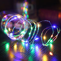 Wonderlife LED String Light Copper Wire Fariy Light USB Operated Garland Decoration 5M Wedding Christmas Light Party Lights - The most popular products on Tiktok | GOWOW