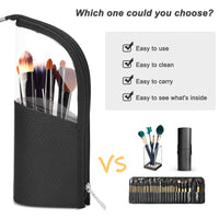 YBLNTEK Makeup Brush Holder Dust-proof Brush Makeup Holder Waterproof Travel Case for Brush Women Brush Organizer Makeup Tools - The most popular products on Tiktok | GOWOW