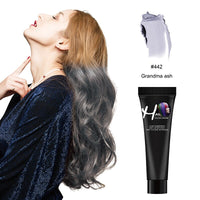 Zation Hair Dye Color Cream Girls Beauty Hair Colors Fashion Hair Cream Unisex Smoky Gray Punk Style Light Grey Silver Permanent - The most popular products on Tiktok | GOWOW