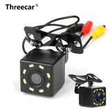 car Rear View Camera Universal 12 LED Night Vision Backup Parking Reverse Camera Waterproof 170 Wide Angle HD Color Image - The most popular products on Tiktok | GOWOW