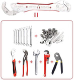 TIKTOK Universal Wrench Multi-Function Quick Snap Grip Wrench Socket Dual Head Adjustable - The most popular products on Tiktok | GOWOW