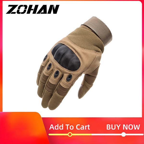 knuckle Tactical Men gloves Military Army Airsoft hard hunting full finger gloves Outdoor winter Touch Screen Shooting Bicycle - The most popular products on Tiktok | GOWOW
