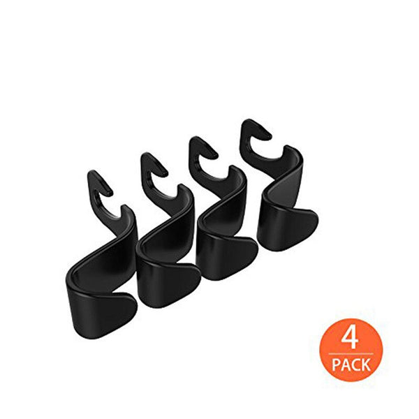 kongyide Car Seat Back Storage Hook 4Pcs Vehicle Headrest Organizer Hanger Storage Hook for Groceries Bag Handbag mar29 - The most popular products on Tiktok | GOWOW