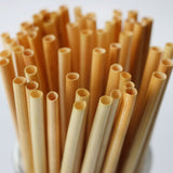 100pcs/pack Eco Wheat Straw Disposable Straw Degradable Drinking Supplies - The most popular products on Tiktok | GOWOW