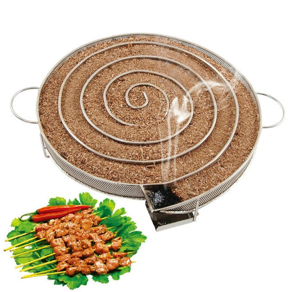2019 New Smoke Generator For BBQ Grill Or Smoker Wood Dust Hot And Cold Smoking Salmon Meat Burn Cooking Stainless Bbq Tools - The most popular products on Tiktok | GOWOW