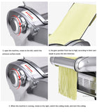 noodle press machine automatic Commercial Stainless Steel electric pasta maker machine Dough Cutter dumpling skin machine 220V - The most popular products on Tiktok | GOWOW