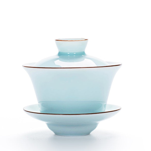 Celadon Tea Tureen 140ml Kung Fu Tea Set,hinese Kung Fu Flower Gaiwan  Puer Kettle,Teapot lovers must have Tea accessories - The most popular products on Tiktok | GOWOW