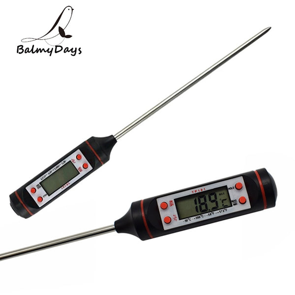 Digital Meat Thermometer Probe Kitchen Cooking Thermometer Barbecue Grill Food Thermometer for Milk Water Smoker BBQ Accessories - The most popular products on Tiktok | GOWOW