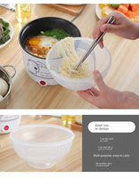 New Products Korean Style Non-stick Electric Cooker Students Dormitory Pot Instant Noodles Pot Cooking Pancakes Non-stick Pot Sm - The most popular products on Tiktok | GOWOW