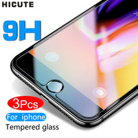 Protective tempered glass for iphone 7 6 6s 8 plus 11 pro XS max XR x glass iphone 7 8 x screen protector glass on iphone 7 6S 8 - The most popular products on Tiktok | GOWOW