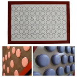 Home Non Stick Silicone Mat Baking Oven Pastry Macaron Cake Sheet Kitchen - The most popular products on Tiktok | GOWOW