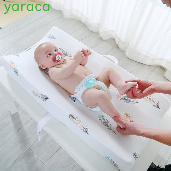 yaraca Diaper Changing Pad Cover Newborns Soft Breathable Cotton Fitted Sheet for Standard Changing Table Pads Bassinet Sheet - The most popular products on Tiktok | GOWOW
