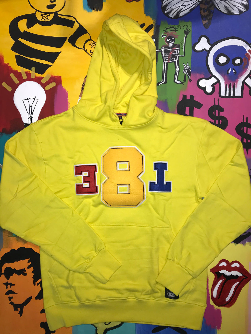 Yellow EAT X ATE Hoodie