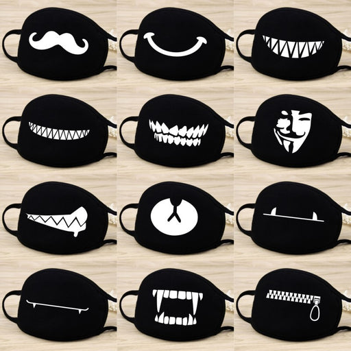 Dust Mask - Cartoon Expressions