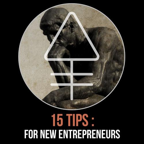 15 Tips for New Entrepreneurs | Alchemy Merch
