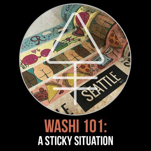 Washi Tape 101: A Sticky Situation | Alchemy Merch