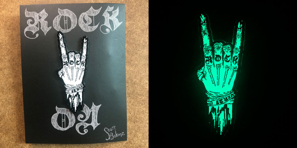 Specialty Inks - White Glow in the dark