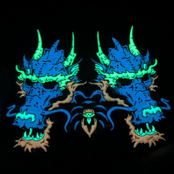 Specialty Inks in Pins - Blue Glow in the Dark - Alchemy Merch