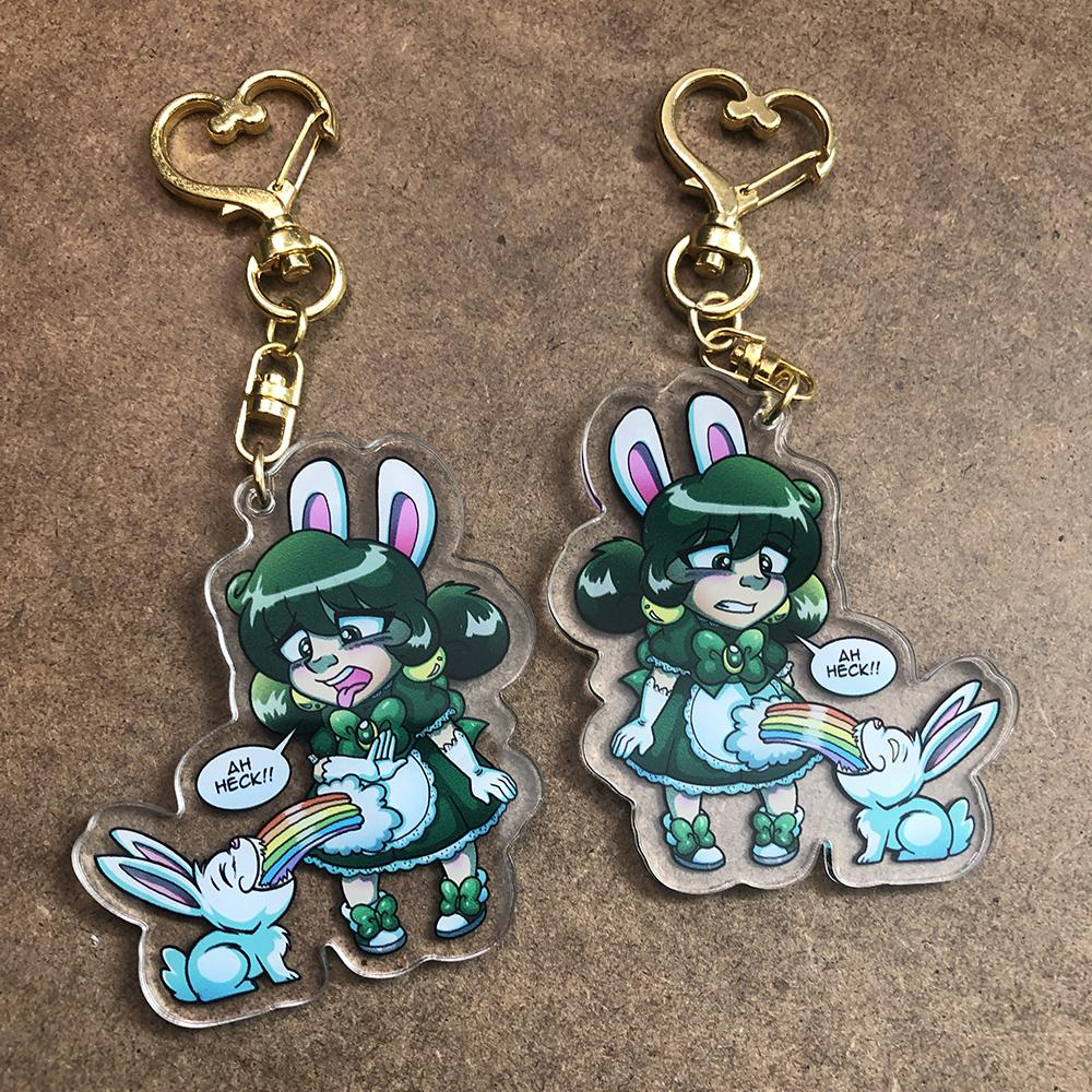 Acrylic Charms - Double Print (single or double board) - Alchemy Merch