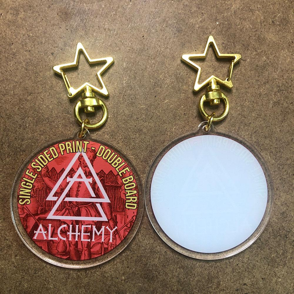 Acrylic Charms - One Sided - Alchemy Merch