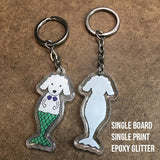 Acrylic Charms - Single Print (single or double board) - Alchemy Merch